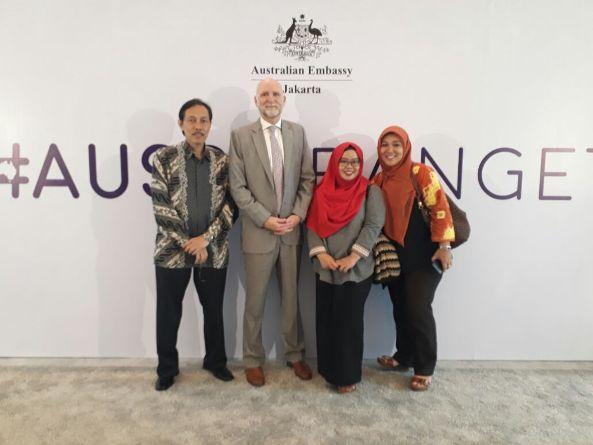 Pemenuhan Undangan Pembukaan Year of Australian Lifestyle di Kedutaan Australia